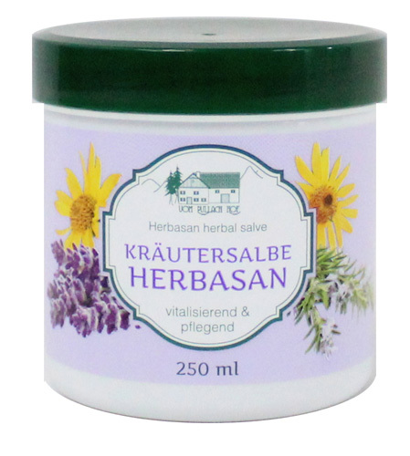 Herbasan - Kräutersalbe 250ml herbal salve